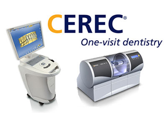CEREC one visit dental crown system